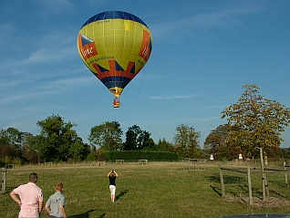 Balloons take off from our first Meadow
