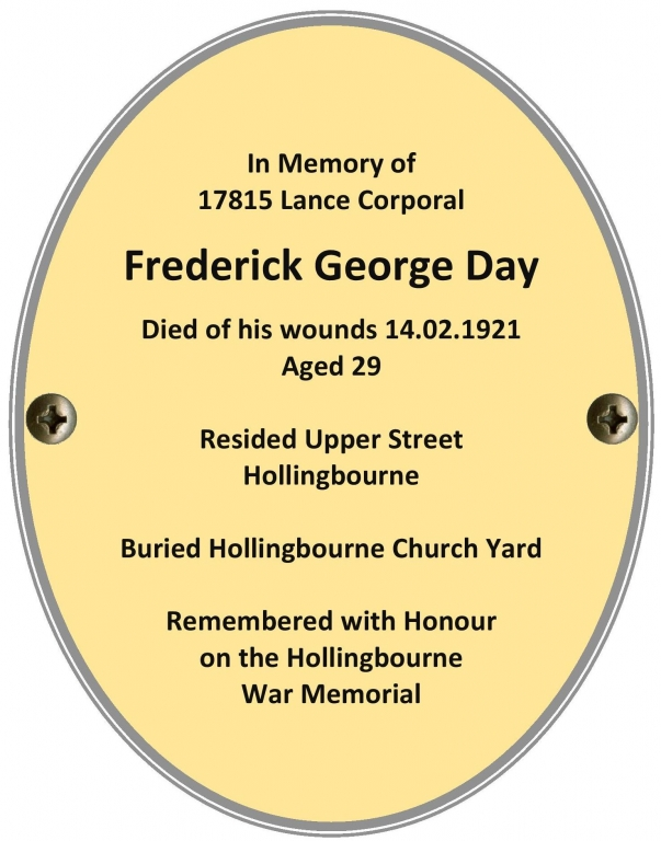 LCpl Frederick George Day