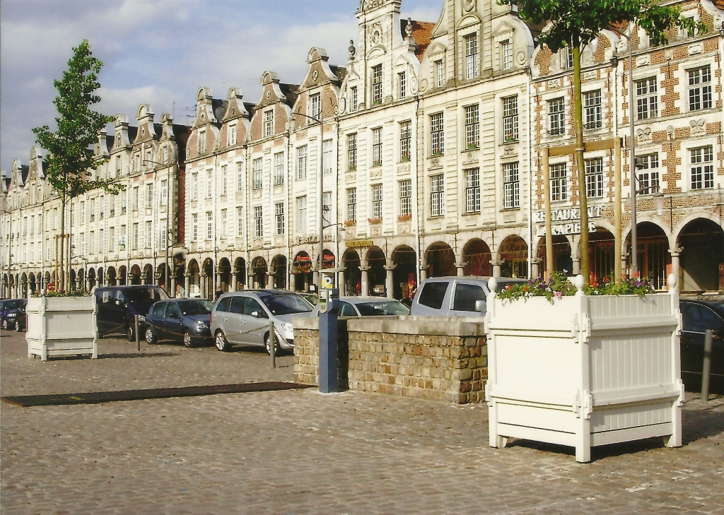 Modern day Arras central square