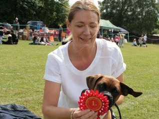 Winner of the Exemption Dog Show