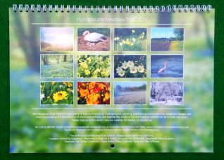 Calendar Back Cover