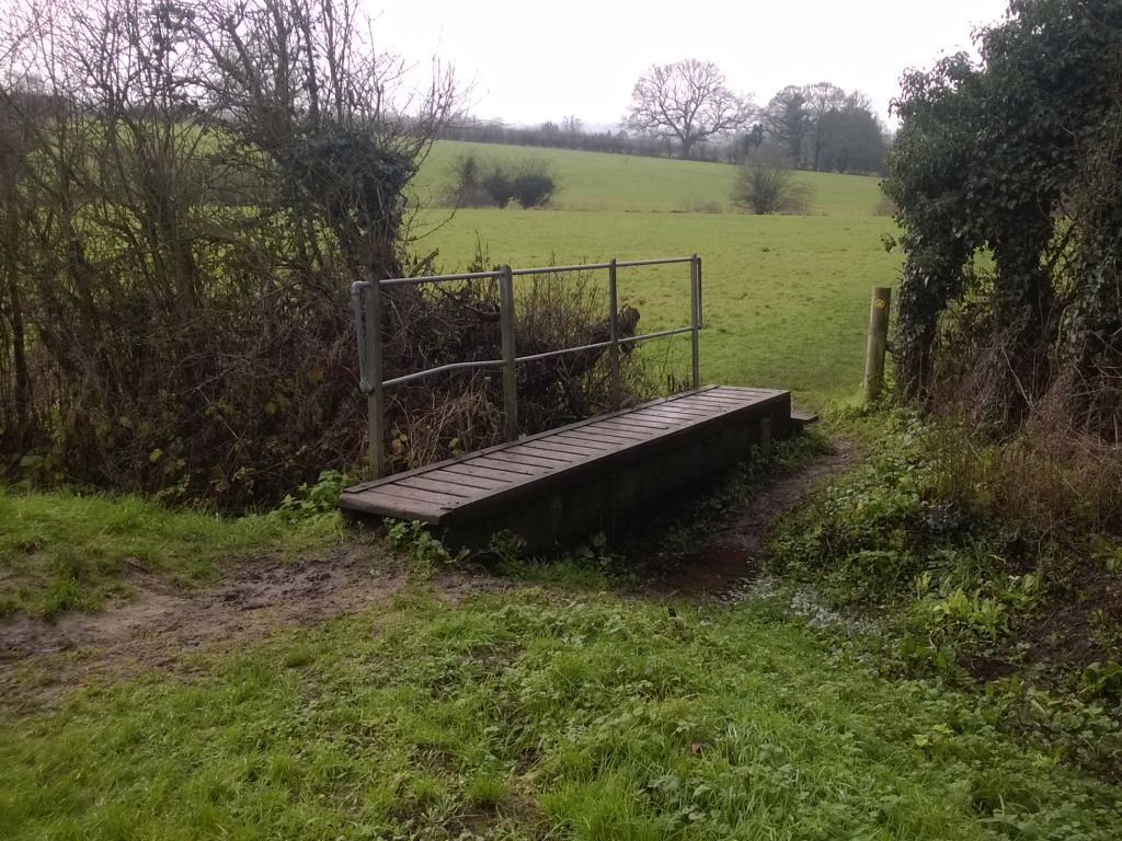 Improve the crossing between Culpeper & Tilefields Meadows (Removal of existing bridge)