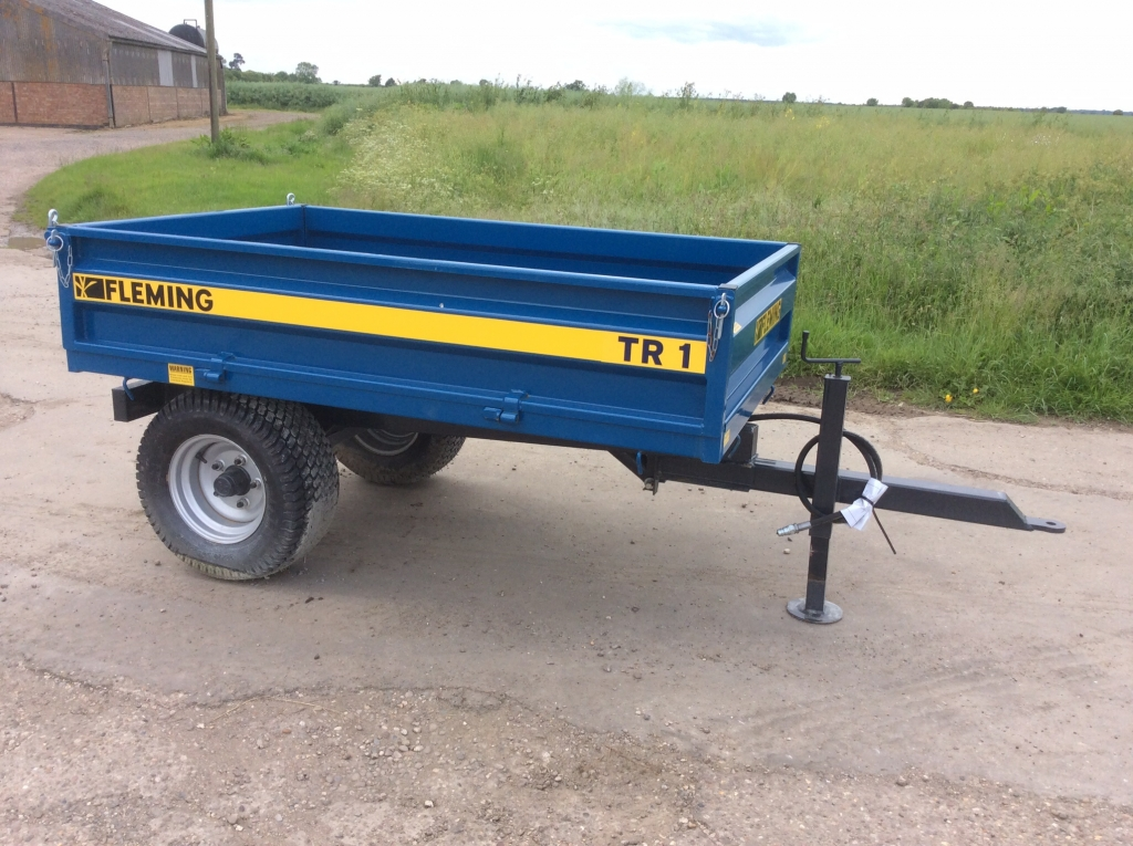 Fleming 1.5t Tipping Trailer