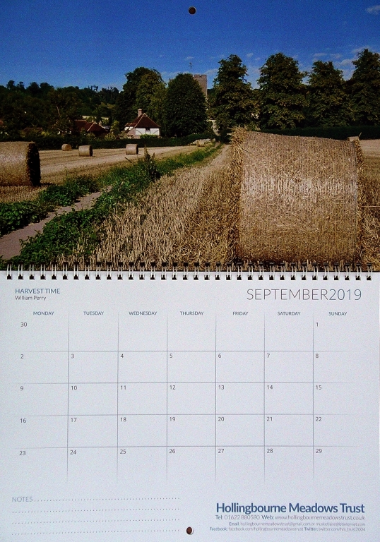 Calendar Month of September